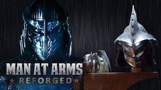 Download Shredder's Helmet and Arms Blades (TMNT) - MAN AT ARMS: REFORGED Video