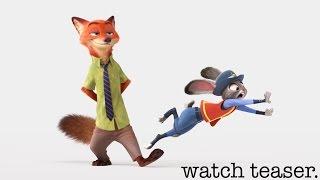 Download Zootopia US Teaser Trailer Video
