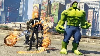 Download GHOST RIDER vs HULK!! Video