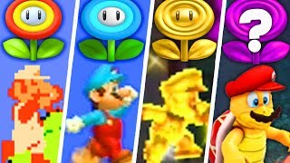 Download Evolution of Super Mario Flower Power-Ups (1985 - 2019) Video