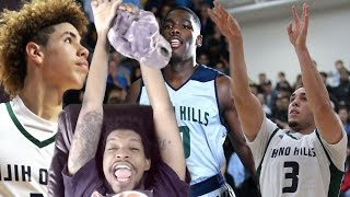 Download JESUS 115 POINTS IN 20 MINUTES! LIANGELO BALL 60 POINTS! CHINO HILLS vs LOS OSOS REACTION Video