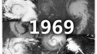 Download 1969 Atlantic Hurricane Season Animation (V.2) Video