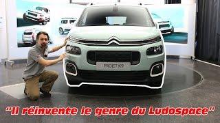 Download Citroën Berlingo 3 (2018) : présentation du nouveau Ludospace Citroën Video