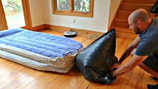 Download How to Inflate an Air Mattress with Garbage Bag Video