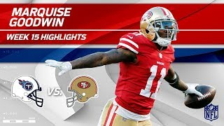 Download Marquise Goodwin Highlights   Titans vs. 49ers   NFL Wk 15 Player Highlights Video