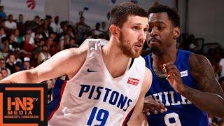 Download Philadelphia Sixers vs Detroit Pistons Full Game Highlights | July 10 | 2019 NBA Summer League Video