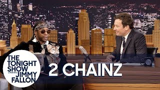 Download 2 Chainz's Dog Trappy Falls Asleep in the Middle of His Interview Video
