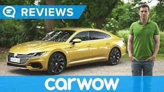 Download Volkswagen Arteon 2018 review - is it better than an Audi? Video