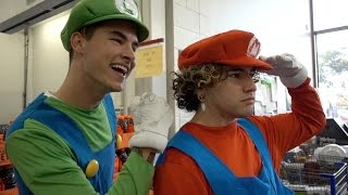 Download MARIO BROTHERS GO TO COSTCO Video