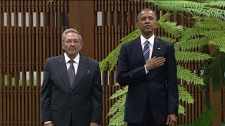 Download President Obama's Meets Cuban President Raul Castro in Havana Video