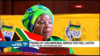 Download Friends of Cuba hold memorial service of Fidel Castro at Jhb City Hall Video