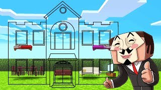 Download Minecraft - NOOB vs PRO vs HACKER - HIDDEN INVISIBLE HOUSE! Video