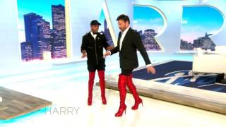 Download Todrick Hall Teaches Harry Connick Jr How To Walk In Kinky Boots Video