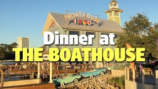 Download Dinner at The Boathouse | Disney Springs Video