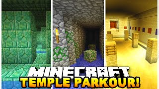 Download Minecraft TEMPLE PARKOUR RACE! (Epic Challenge Map) - w/ Preston & Chocobo Video