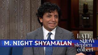Download M. Night Shyamalan Says 'Thanks, Universe' Video