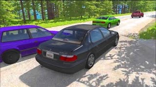 Download BeamNG MODS New Scenarios!! NFS Style Race!! TREEE!!!!! Video