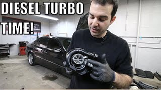 Download I Installed A Bigger Turbo On My Turbo Diesel Mercedes & It's Awesome! Video
