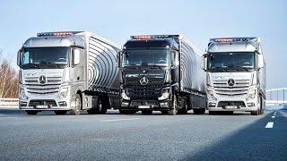 Download Daimler Mercedes Truck Highway Pilot Connect - Test Drive Video