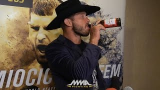Download Donald Cerrone: A Piece of Me 'Died' When Robbie Lawler Withdrew From Fight Video