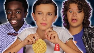 Download The Cast Of ″Stranger Things″ Reveal Set Secrets (While Decorating Waffles) Video