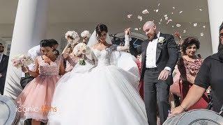 Download The groom meets his bride Khadijeh Mehajer in the most lavish way! LEBANESE WEDDING Video
