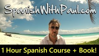 Download 1 Hour Spanish Mini-Course For Beginners! Course Book Included Video