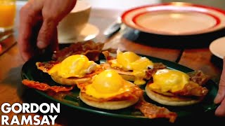 Download Eggs Benedict With Crispy Parma Ham | Gordon Ramsay Video