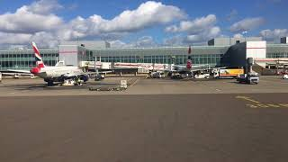 Download British Airways London Heathrow to Inverness Taxi,Take off and Landing shot in 4K Video