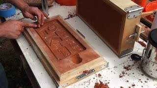 Download Casting an Aluminum Sign, Sand Molding and Finishing | 5k Part 2 Video