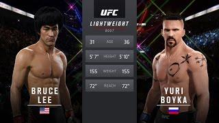 Download Bruce Lee Vs Yuri Boyka EA Sports UFC 2 Video