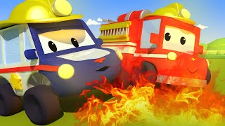 Download The Fire - Tiny Town: Street Vehicles Ambulance Police Car Fire Truck Video