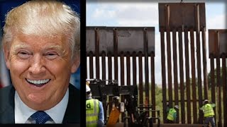 Download BREAKING: FIRST PIECE OF TRUMP'S BORDER WALL IS UP... BUT HERE'S THE BEST PART Video