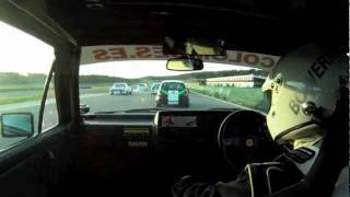 Download Classic Historic GTI Touring Car Championship Racing Ascari Race Resort 2011 2012 crashes VW Golf Video
