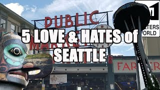 Download Visit Seattle - 5 Things You Will LOVE and HATE about Seattle Washington Video