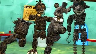 Download BURNT ANIMATRONICS TAKEOVER THE KRUSTY KRAB! FINAL NIGHTS 2 PILL PACK (Gmod For Kids FNAF) Video