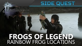 Download FFXV - Rainbow Frogs Locations / The Frogs of Legend (Side Quest) Video