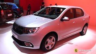 Download 2017 Dacia Logan - Exterior and Interior Walkaround - Debut at 2016 Paris Motor Show Video