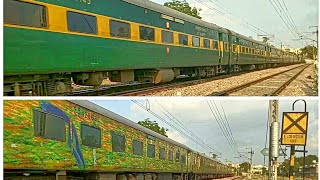 Download Chennai Garib Rath Vs. Secunderabad Duronto: Terrific Speedshow In Evening by Top Class Trains!! Video
