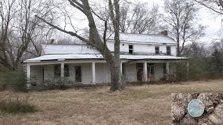 Download #43 Abandoned 1800s home +AMAZING metal detecting FIND. Mint Seated! Video