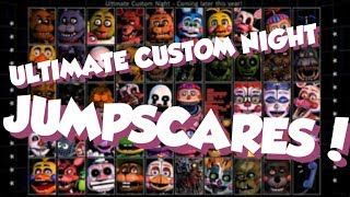 Download ALL JUMPSCARES + VOICES IN ULTIMATE CUSTOM NIGHT!! // FNaF Ultimate Custom Night Video