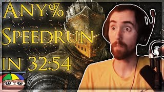 Download Asmongold Reacts to Dark Souls Remastered Speedrun - Any% in 32:54 IGT (World Record) by Elajjaz Video