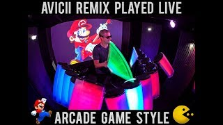 Download Avicii - Without You (AFISHAL Remix) ARCADE GAME STYLE Video