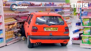 Download Richard Hammond and team play Supermarket Sweep in Hatchbacks | Top Gear - BBC Video