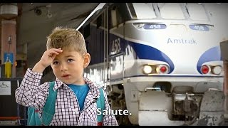 Download Memorial Day Salute From On Amtrak Trains - All Aboard! Video