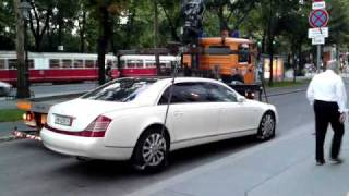 Download Maybach 62S Missglücktes Abschleppen in Wien Video