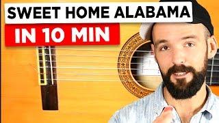 Download Gitarre lernen für Anfänger - Sweet Home Alabama - einfach erklärt Video
