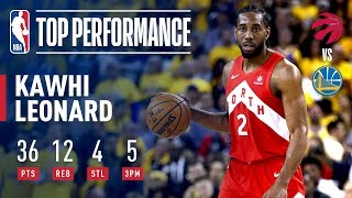 Download Kawhi Leonard Drops A Finals Career-High 36 Points In Game 4   2019 NBA Finals Video