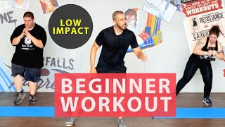 Download 30 minute fat burning home workout for beginners. Achievable, low impact results. Video