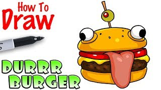 Download How to Draw the Durrr Burger | Fortnite Video